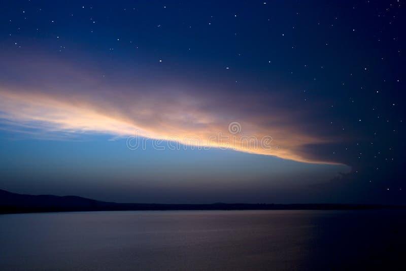 soluppgång 4 arkivfoto