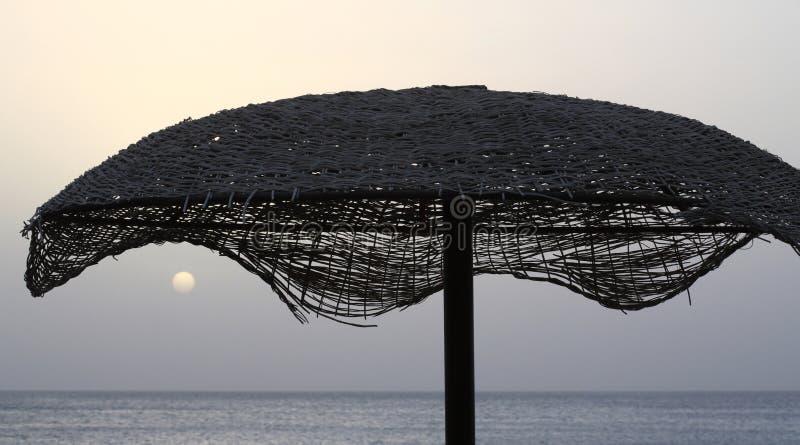 Soluppgång i Egypten, Afrika royaltyfri foto