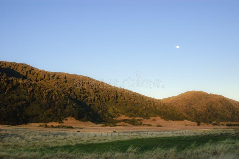 Soluppgång på prärien arkivfoto