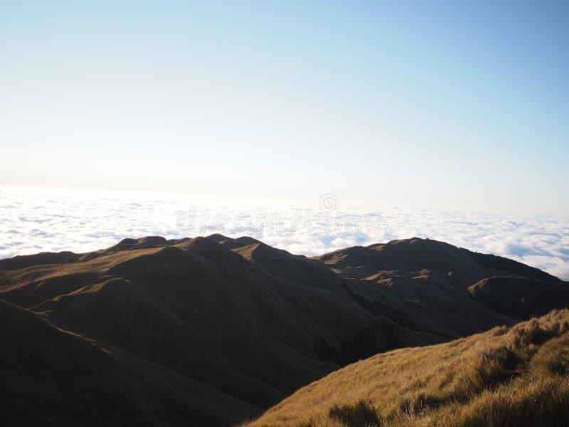 soluppgång USA washington för tillstånd för mt-nationalpark mer regnig Pulag royaltyfri bild