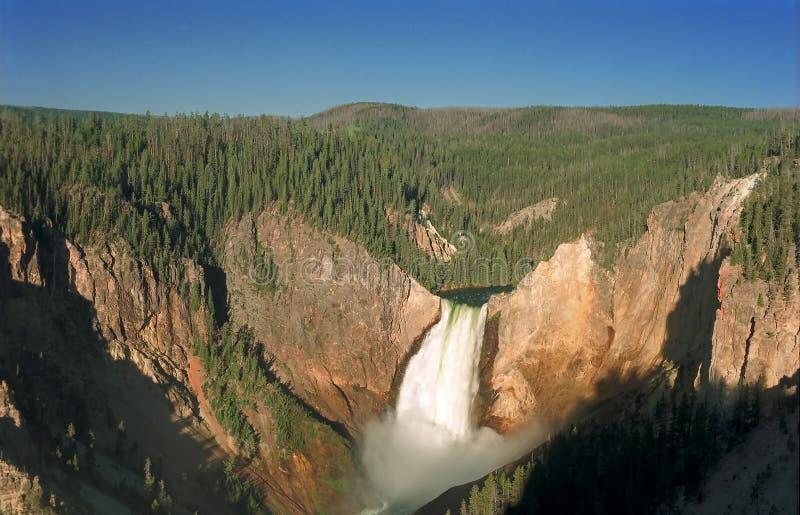 Soluppgång Yellowstone Arkivbild
