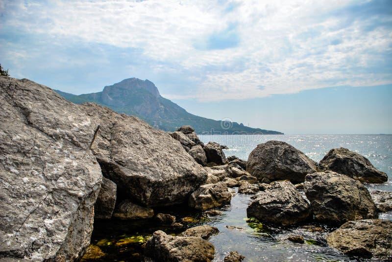 Solur i Sevastopol, republik av Krim royaltyfria bilder
