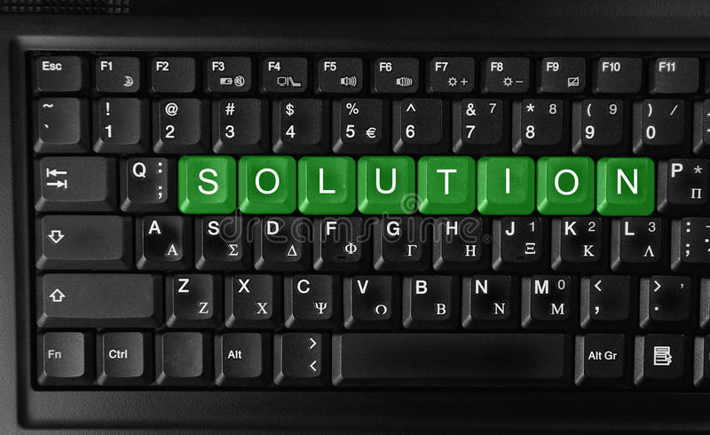 Download Solution stock photo. Image of hope, connection, green - 24347004