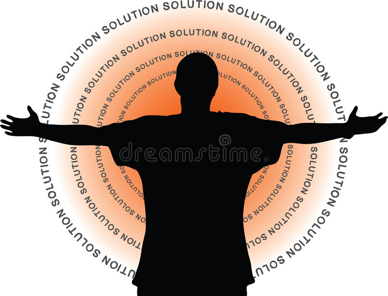 Download Solution stock vector. Image of difficulty, people, metaphor - 5528728