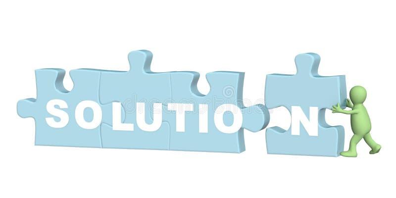 Solution illustration de vecteur