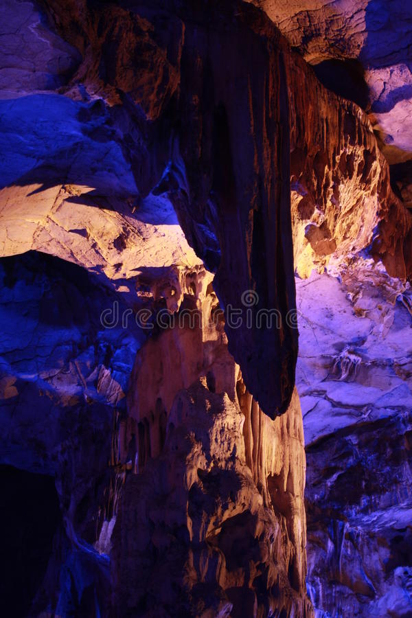 Solution cavity crevice scenery royalty free stock images
