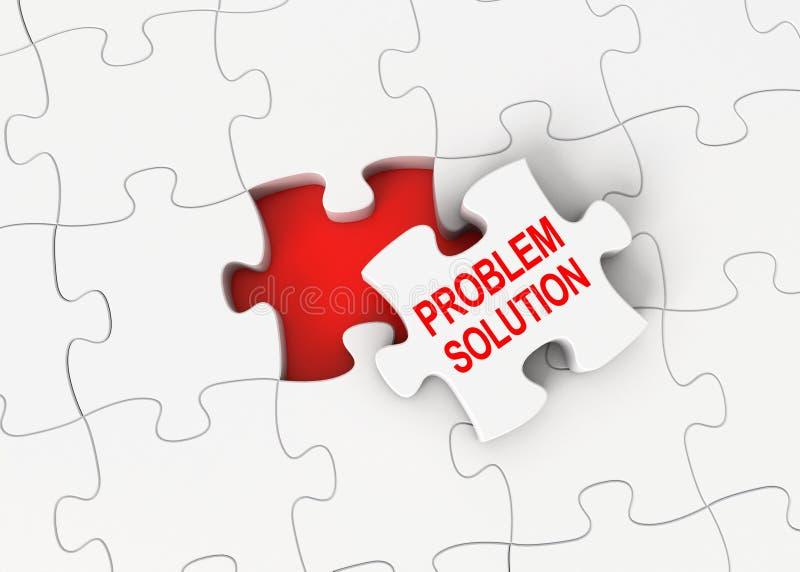 Solution de problème illustration de vecteur