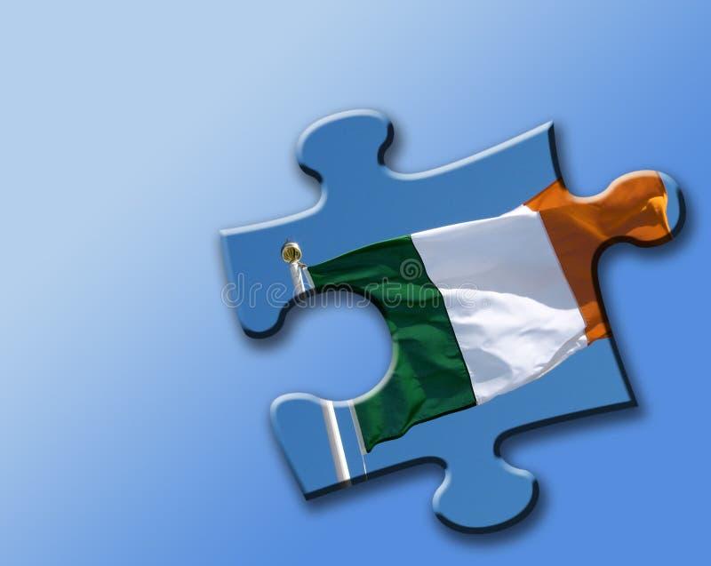 Solution irlandaise illustration de vecteur