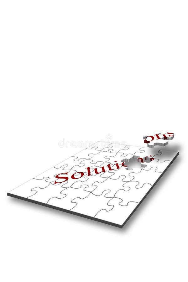 Solution Jigsaw Landscape Stock Photos