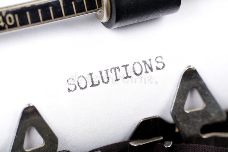Download Solutions stock photo. Image of letters, business, plan - 3493566