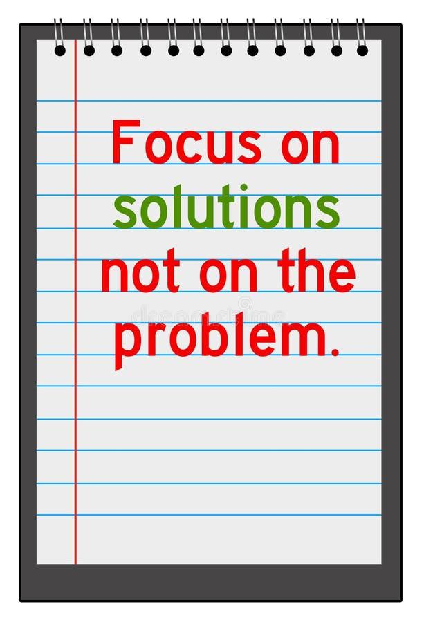 Solutions illustration stock