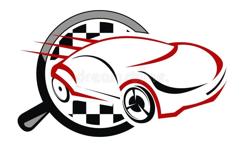 Solutions automatiques de voiture illustration de vecteur