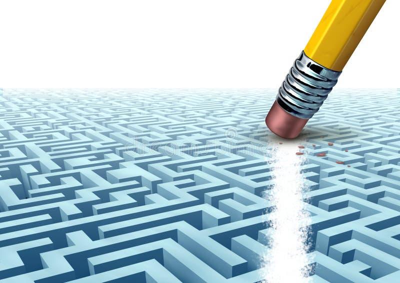 Solutions créatrices d'affaires illustration libre de droits