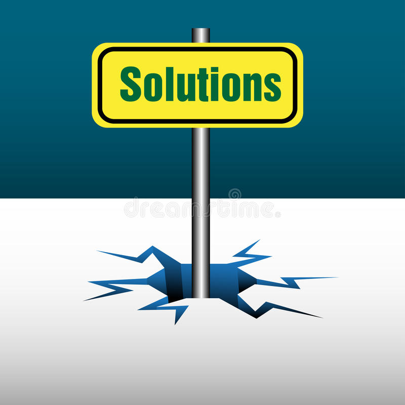 Download Solutions plate stock vector. Illustration of help, business - 22712990