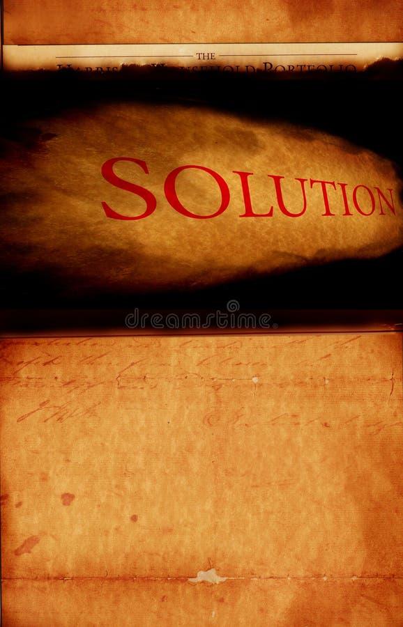 Soluzione immagine stock