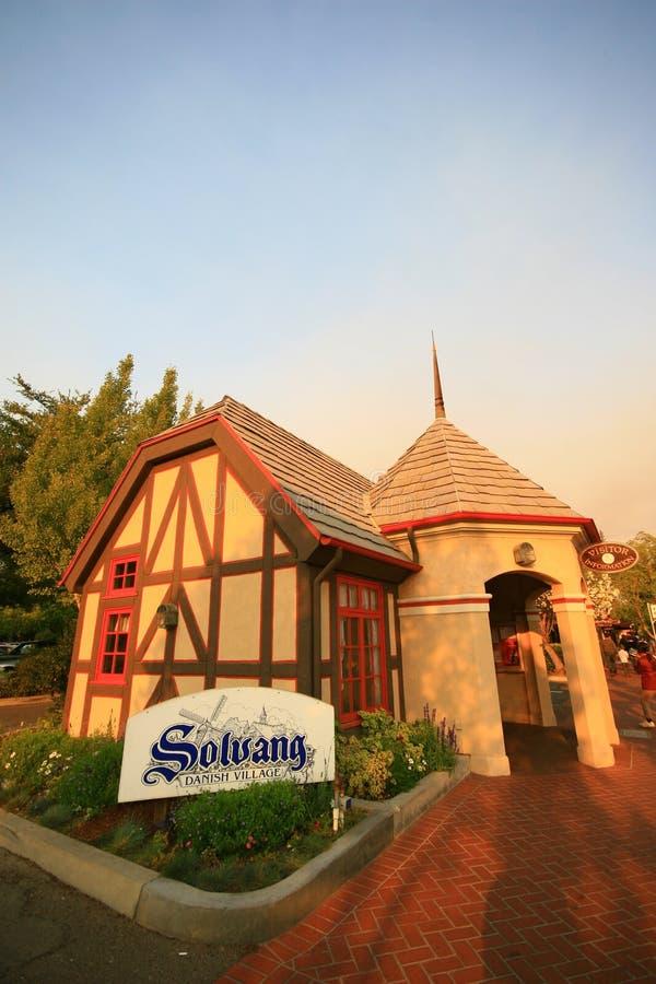SOLVANG, CALIFORNIA, USA - August 16, 2009 royalty free stock photos