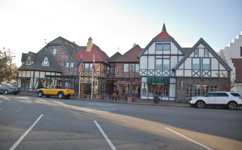 Solvang - Danish town in california royalty free stock photography
