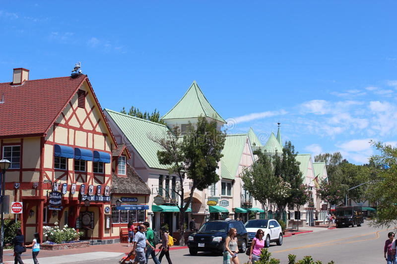 Download Solvang town editorial stock photo. Image of kinda, quite - 28327203