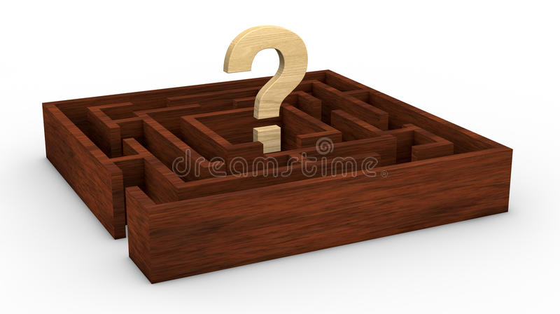 Download Solve a problem stock illustration. Image of difficult - 23605892