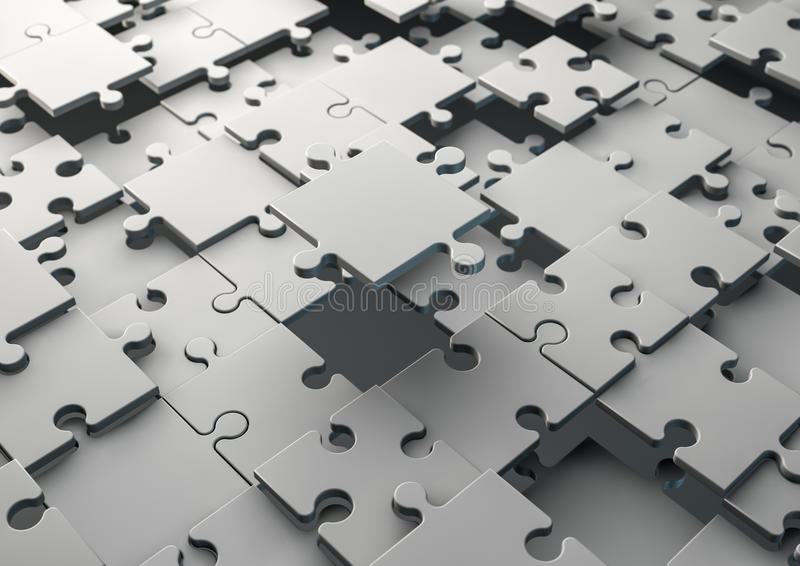 Download Solving jigsaw puzzle stock illustration. Image of choice - 31158864