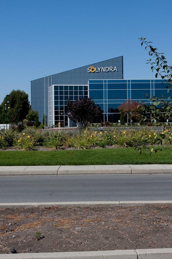 Solyndra - 0806 lizenzfreie stockfotos