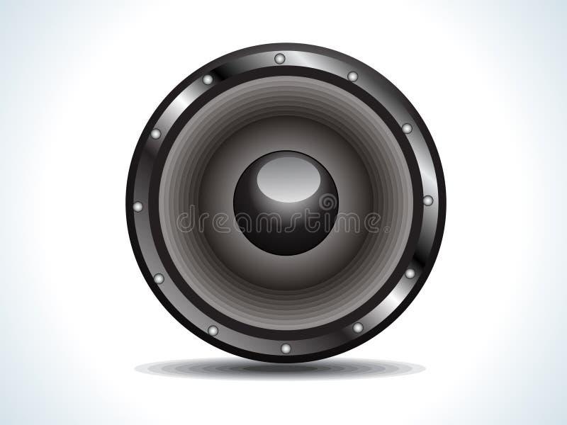 Download Som ilustração do vetor. Ilustração de sonorous, loudspeaker - 16873835