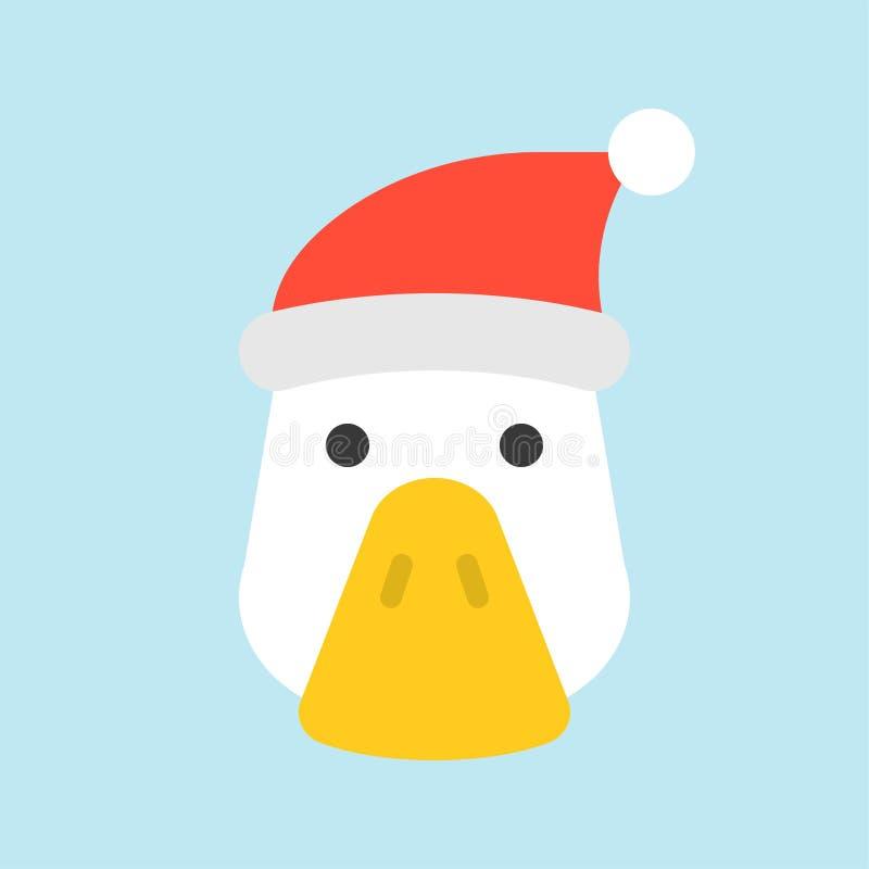And som bär design för symbol för santa hatt plan royaltyfri illustrationer