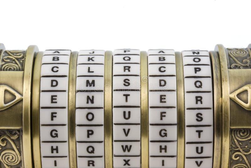 som b-kombinationen skriver in lösenordpussel som ställs in till upp royaltyfri fotografi