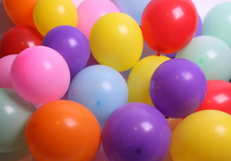 som bakgrundsballonger arkivfoton