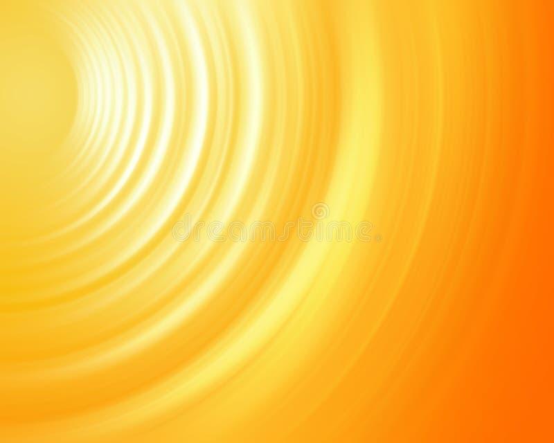 Som da onda da energia ilustração do vetor