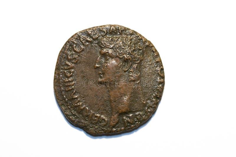 som den roman claudiusen royaltyfria bilder