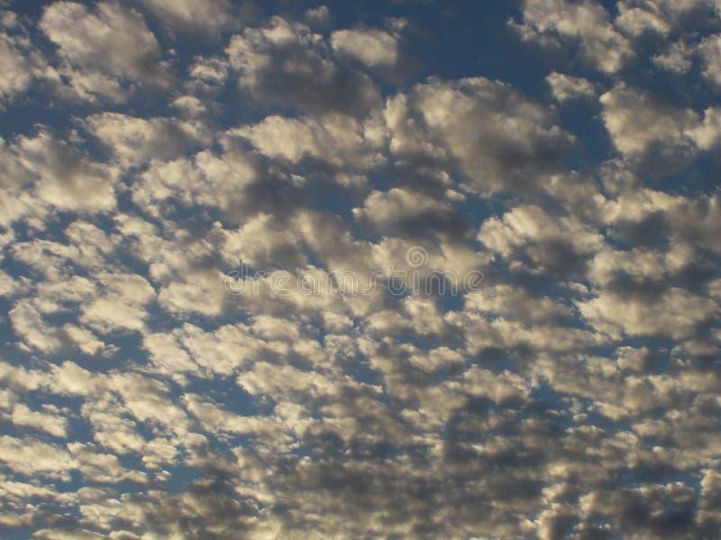 Som moln går royaltyfri bild