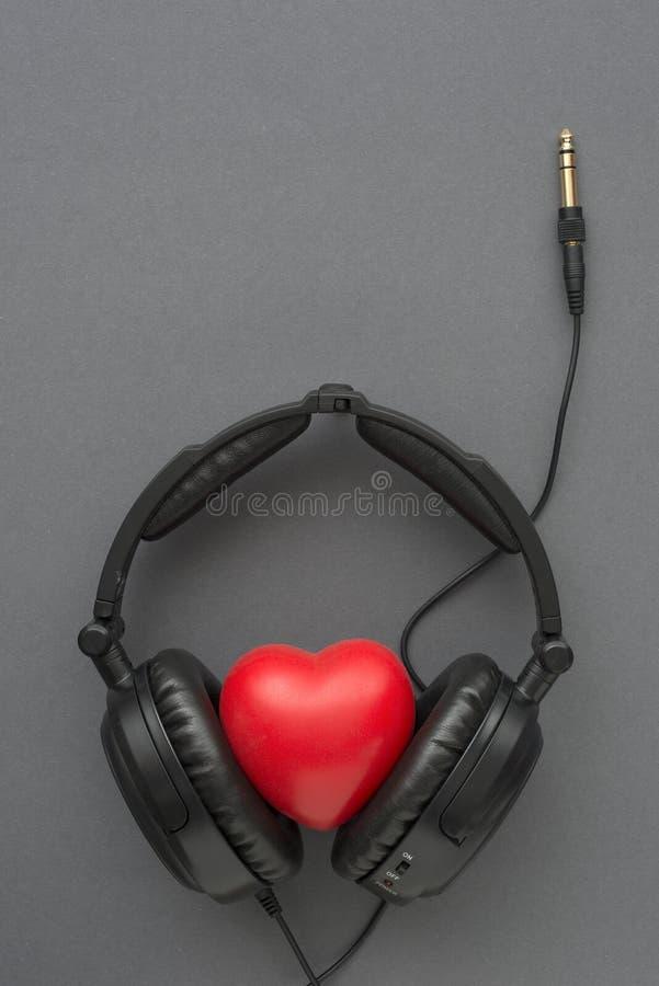 Som musikgrå färger royaltyfri bild