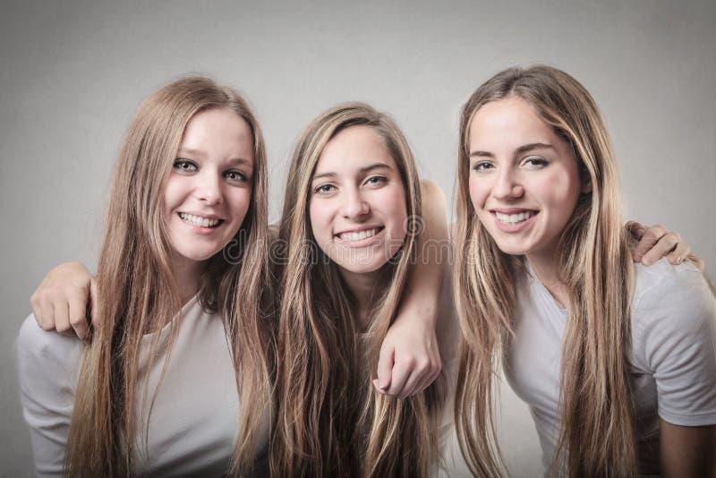 Som systrar arkivfoton