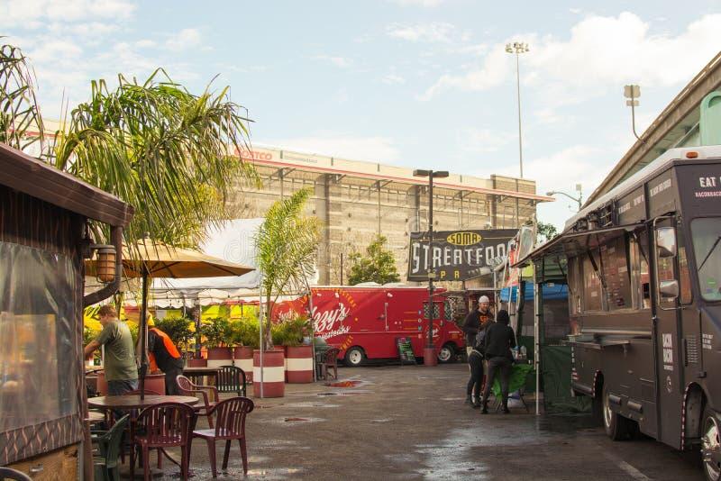 SoMa StrEat jedzenia park zdjęcia royalty free
