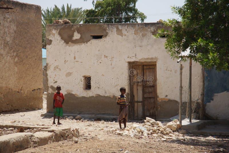 Somalia ist ein Land von Piraten stockbild