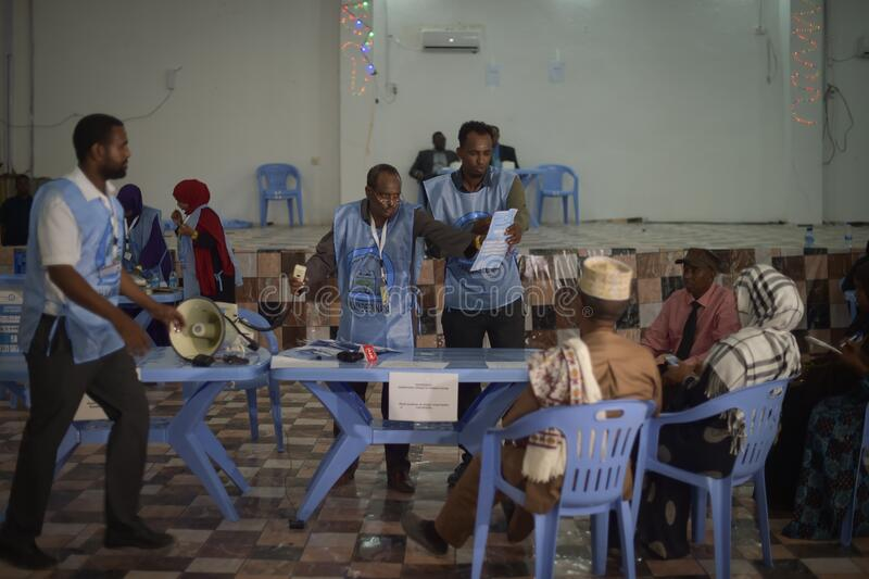 2016_12_06_Somaliland_Elections-1 stock image