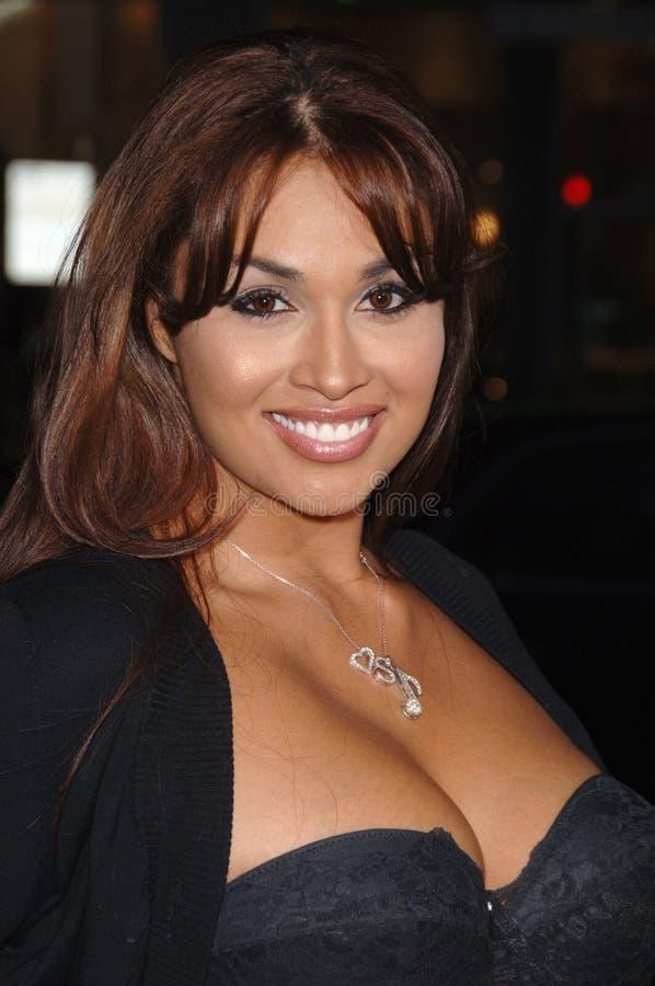 Somaya Reece stock foto