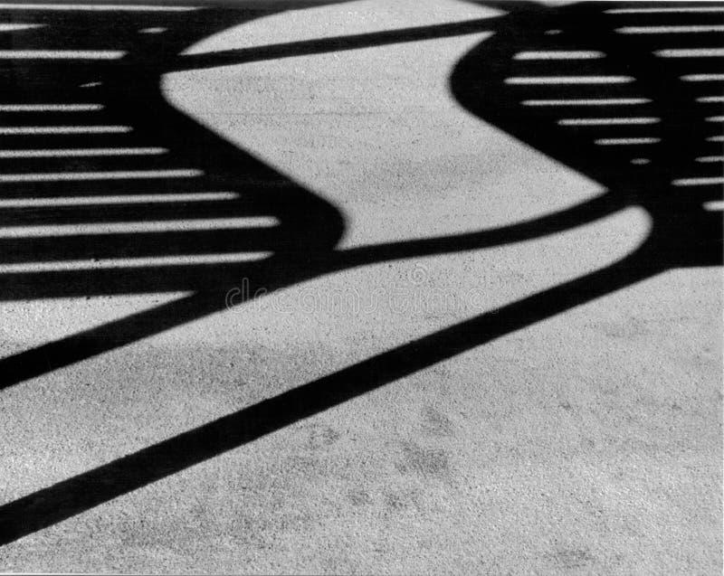Sombra abstracta fotografía de archivo