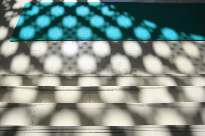 Sombra abstracta en el piso foto de archivo libre de regalías