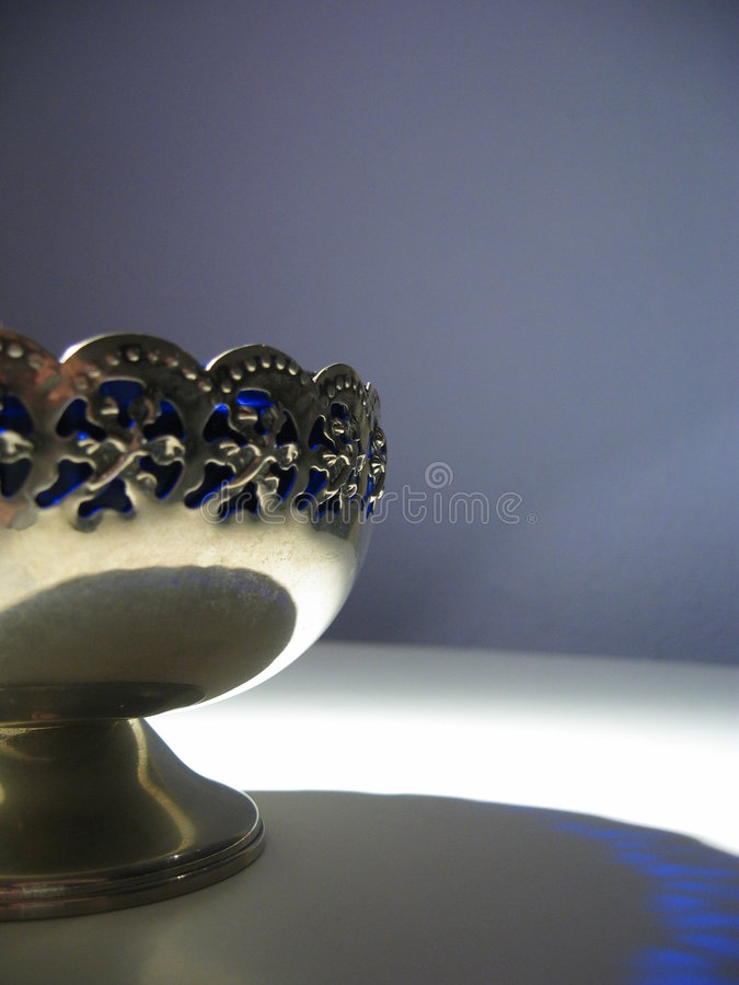 Sombra azul imagen de archivo libre de regalías
