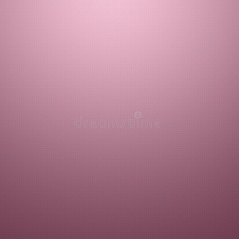 Sombra cor-de-rosa dos círculos ilustração royalty free