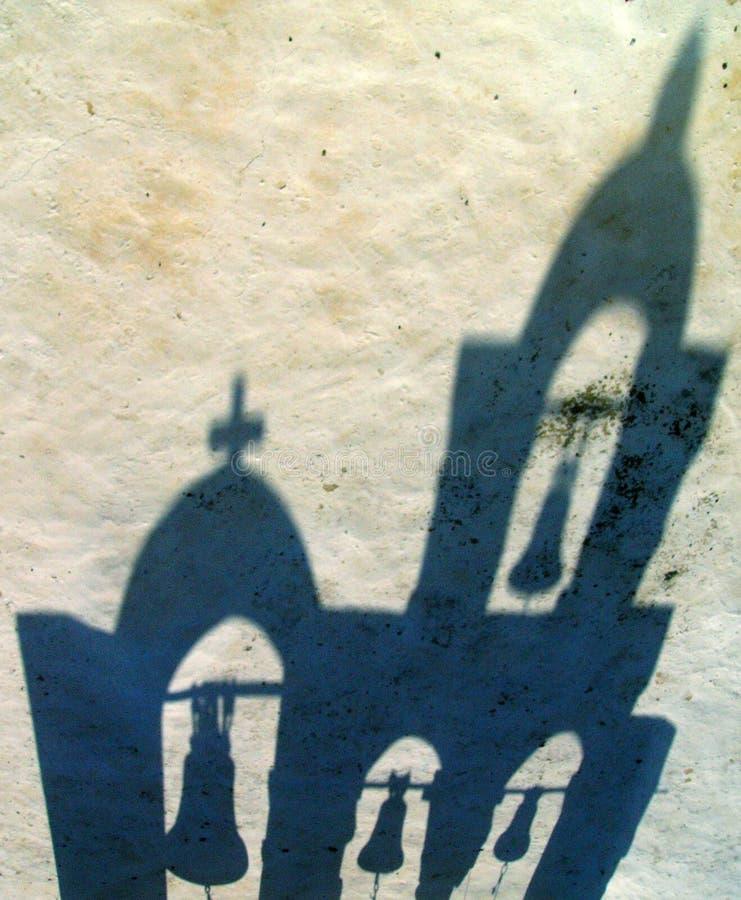 Sombra da gota fotografia de stock