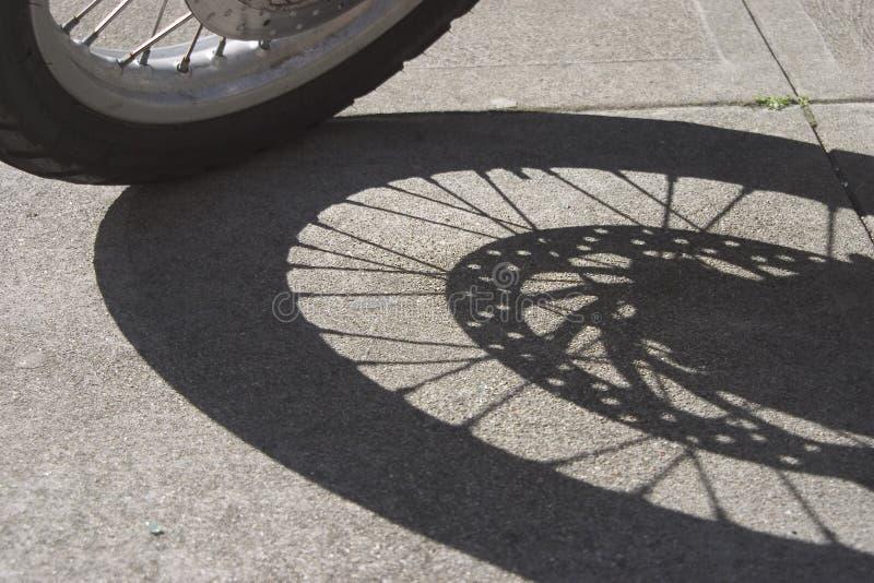 Sombra da roda fotos de stock