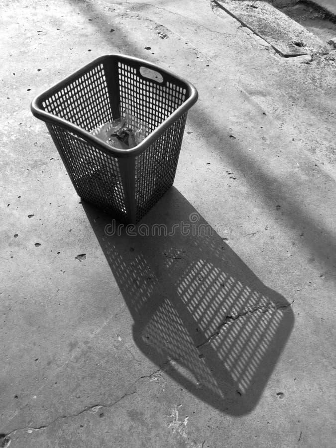 Sombra de um escaninho foto de stock