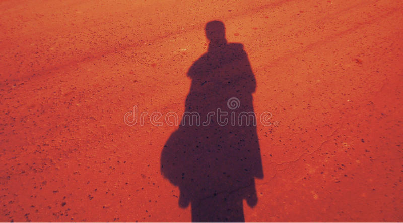 Download Sombra de una mujer foto de archivo. Imagen de muchacha - 44855608