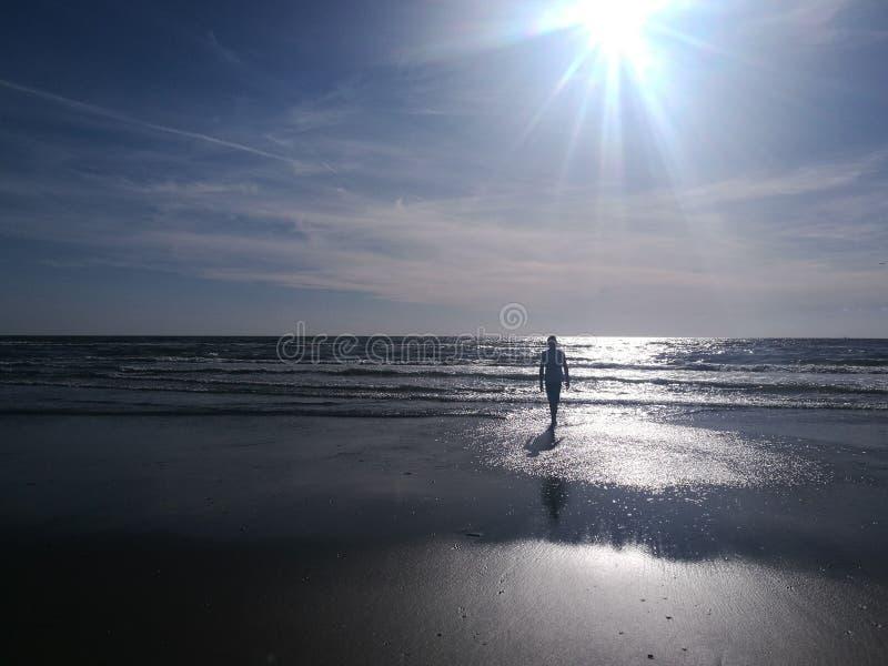 Sombra de una persona fotos de archivo