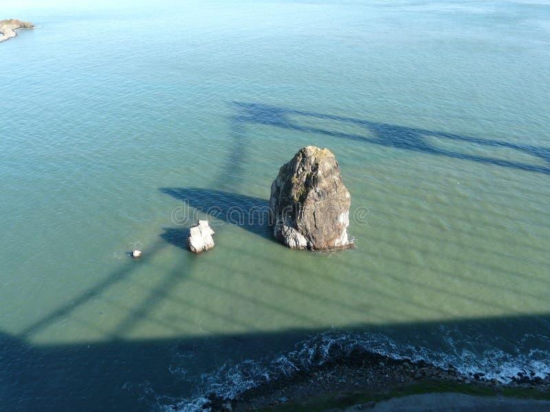 Sombra do Golden Gate imagens de stock royalty free