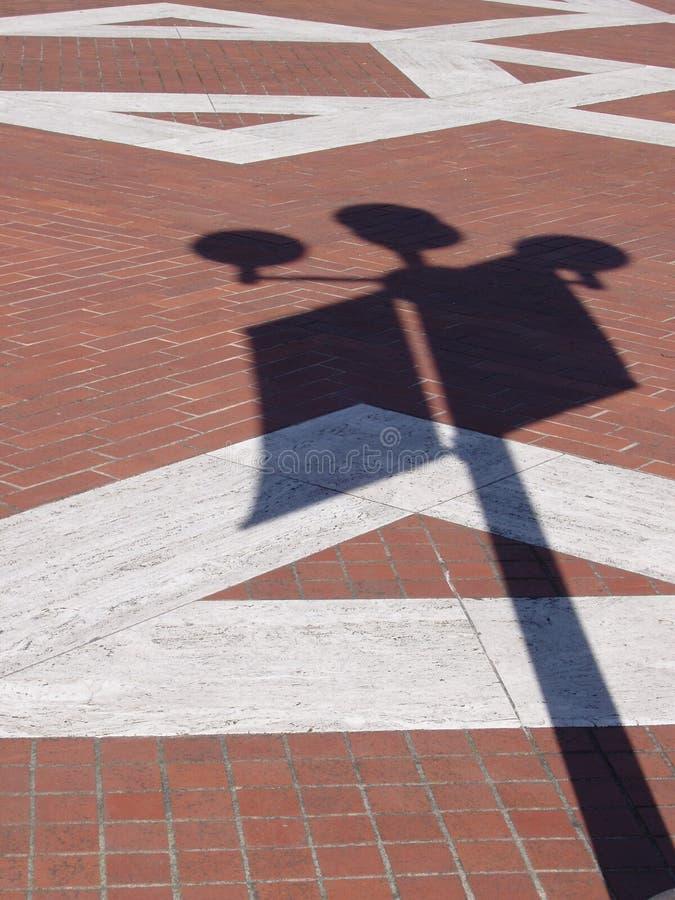Sombra Do Tijolo Imagem de Stock