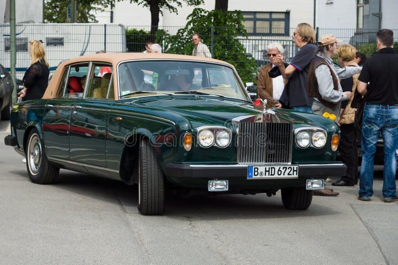 Sombra luxuosa britânica II da prata de Rolls royce do carro imagens de stock royalty free